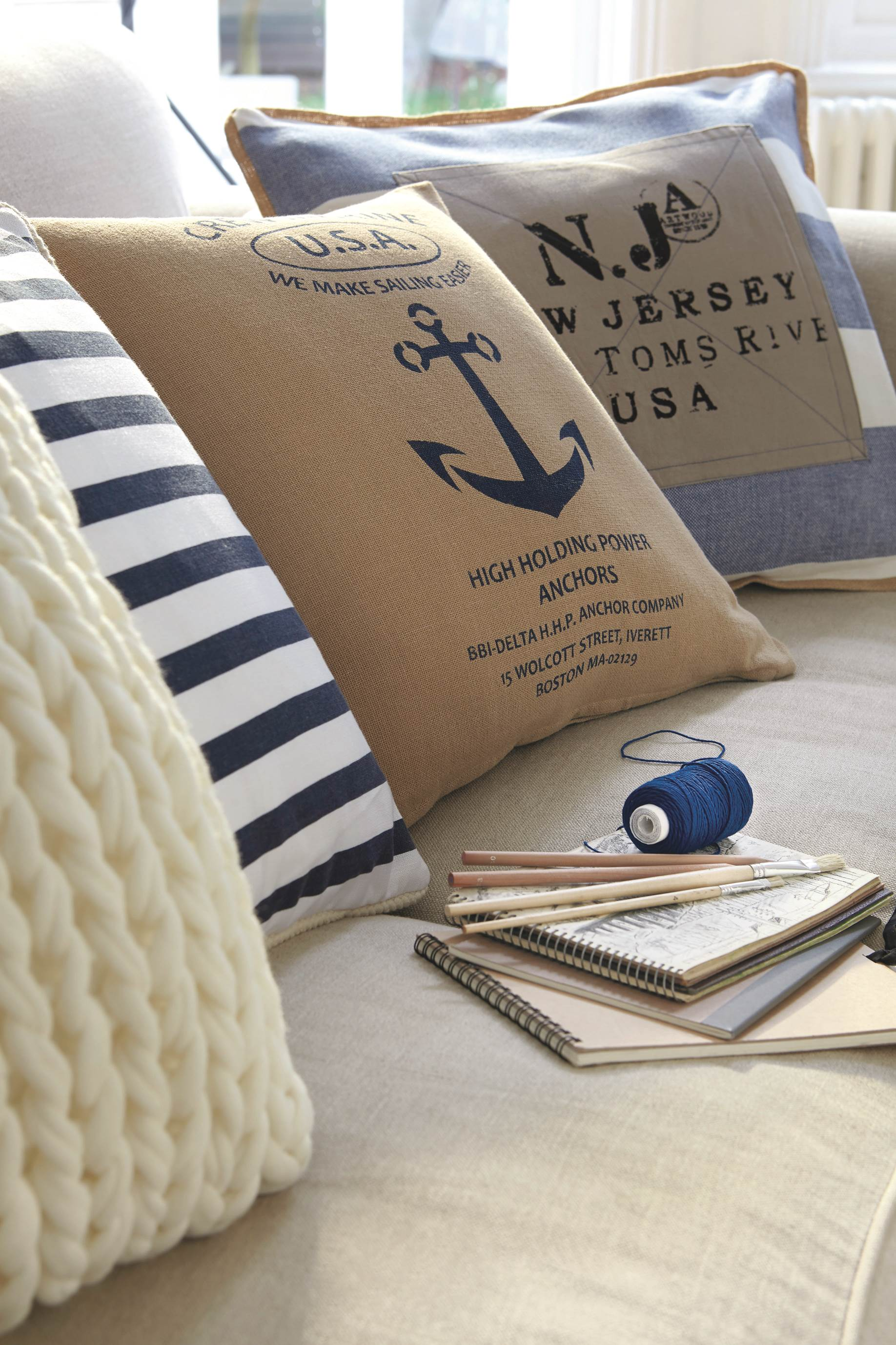 Marine Decorative Ideas For Your Living Room BritishStyleUK