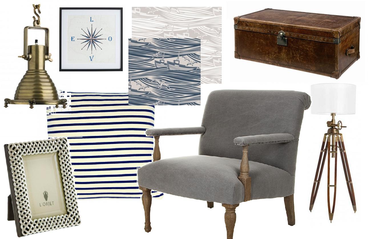 Living Room Accessory Marine Inspired Living Room Britishstyleuk