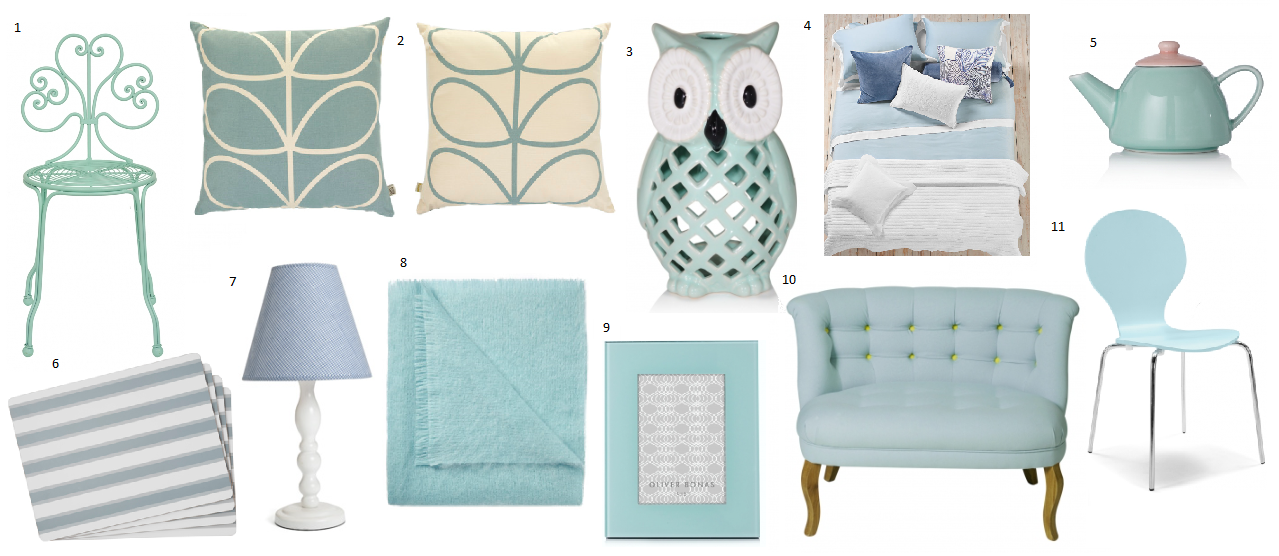 Baby Blues Powder Blue Furniture And Home Accessories