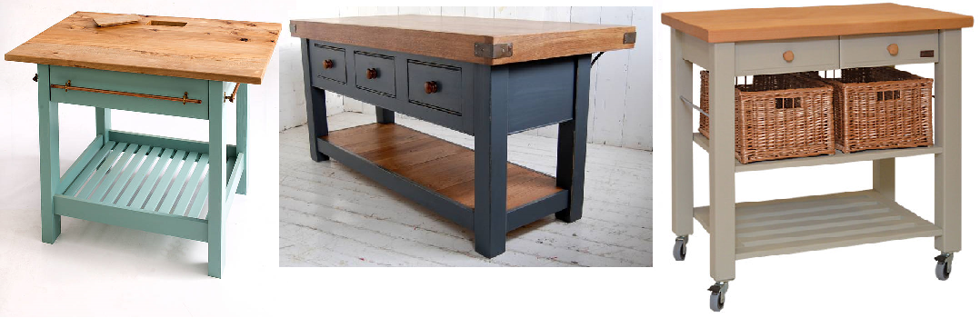 image gallery kitchen islands and trolleys eddingtons kitchen trolley the lambourn 3 drawer