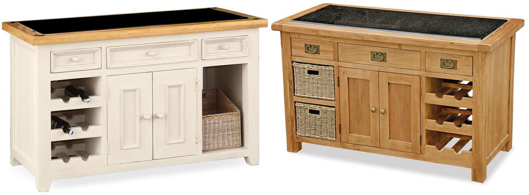 Integral Kitchen Islands