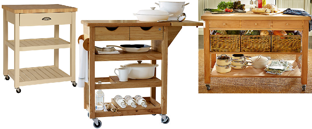 Kitchen Islands with Wheels